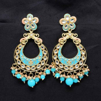 Turquoise Danglers Drops