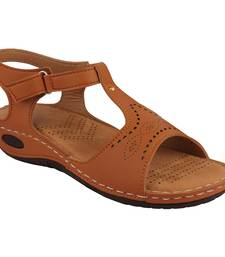 brown solid casual synthetic flats