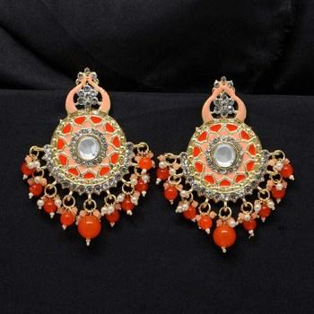 Orange danglers-drops