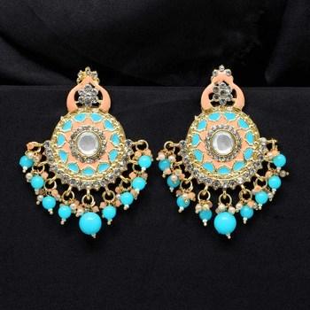 Turquoise danglers-drops