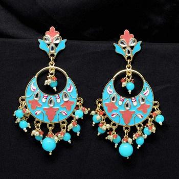 Turquoise Danglers Drops