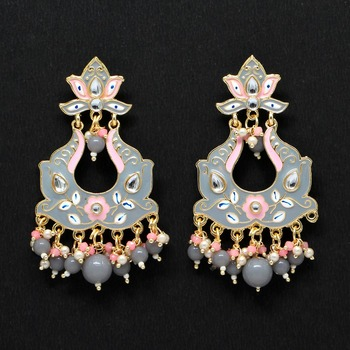 Grey Danglers Drops