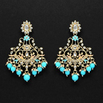 Turquoise danglers-drops