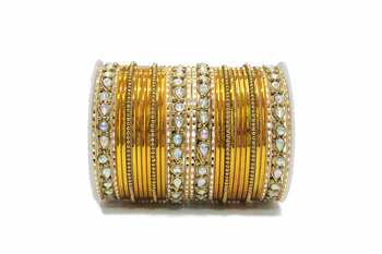 Yellow Zircon Bangles And Bracelets