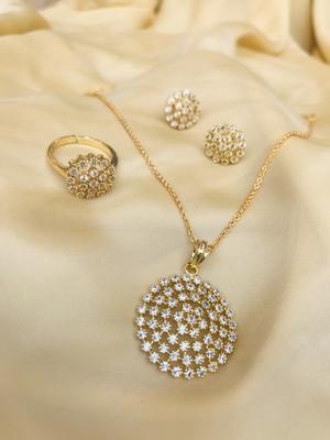 Gold jewellery-combo
