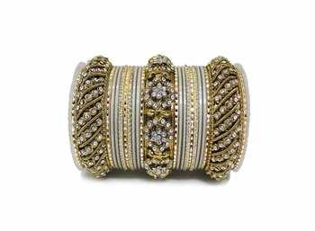 Grey Zircon Bangles And Bracelets