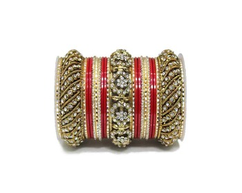 Red Zircon Bangles And Bracelets