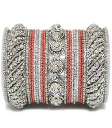 Buy Red zircon bangles-and-bracelets bangles-and-bracelet online
