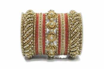 Red Zircon Bangles And Bracelets
