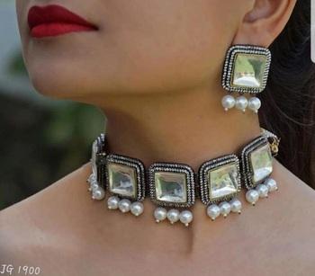 White Cubic Zirconia Necklace Sets
