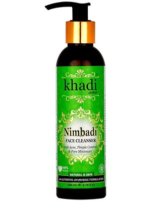 Khadi Global Nimbadi Ayurvedic Formulation with 5 Type of Tulsi and Neem Anti Acne and Pimple Control Face Cleanser