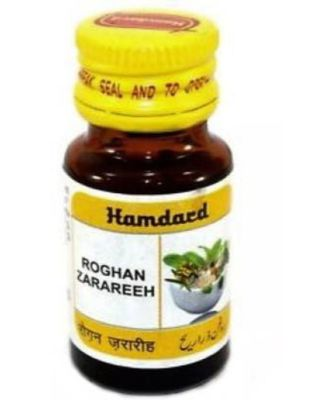 Hamdard Roghan Zarareeh 10ml Hair Oil  (10 ml)