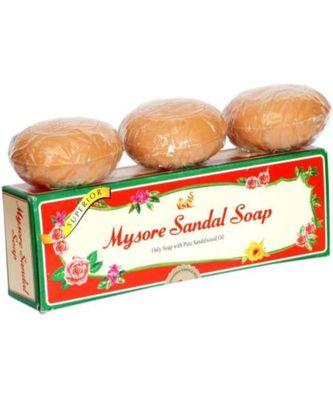 Mysore Sandal Bath Tablet Trio Soap  (3 x 150 g)