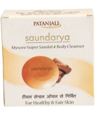 Patanjali Saundarya Mysore Super Sandal Body Cleanser(75 g)