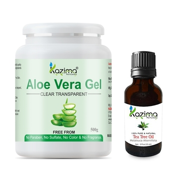 Tea Tree oil 15ml 100% Pure Natural Raw Combo Pack Ideal for Scalp, Acne Scars, Dark circles