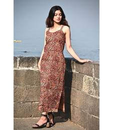Kalamkari Slip Dress