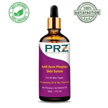PRZ Anti Acne Pimples Skin Serum (30ML) For All Skin Types - Acne Scars & Dark Spots Removal, Pimples, Pigmentation