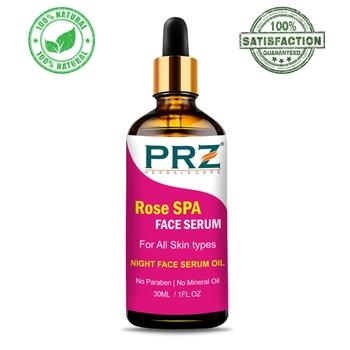 PRZ Rose SPA Face Serum (30ML) Night Face Serum For All Skin Type - Helps in Tightening Skin Tissues