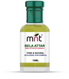 MNT Bela Attar For Unisex, Long Lasting & Alcohol Free (10ml) - Pure Natural & Premium Quality Roll-on Attar