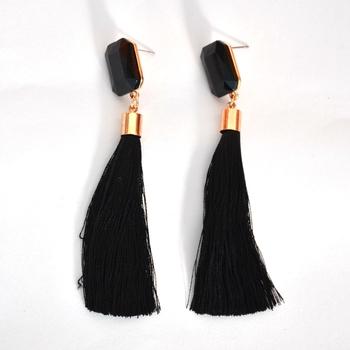 Stylish Thread Tassel Earring For Women And Girls