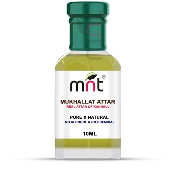 10ml MNT Mukhallat Attar For Unisex, Long Lasting & Alcohol Free