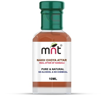MNT Nakh Choya Attar For Unisex, Long Lasting & Alcohol Free (10ml) - Pure Natural & Premium Quality Roll-on Attar