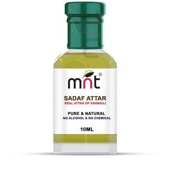 MNT Sadaf Attar For Unisex, Long Lasting & Alcohol Free (10ml) - Pure Natural & Premium Quality Roll-on Attar
