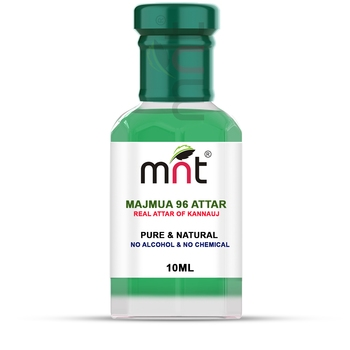 MNT Majmua 96 Attar For Unisex, Long Lasting & Alcohol Free (10ml) - Pure Natural & Premium Quality Roll-on Attar