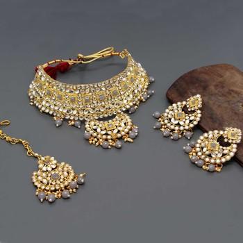 Grey necklace-sets
