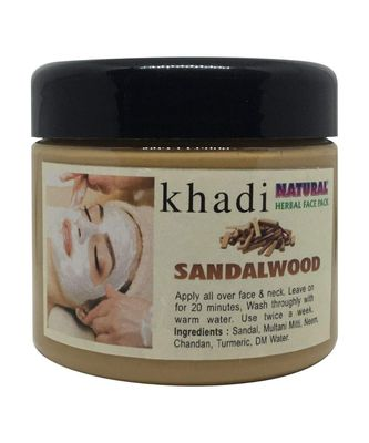 Khadi Herbal The EnQ Natural Sandalwood Face Pack (180 g)