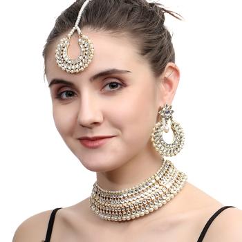 White pearl jewellery