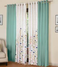 ROSARA HOME Mateo Grace Panel Pack of 4 Door Curtains