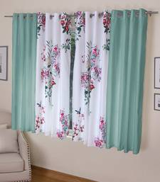 ROSARA HOME Mateo Kai Panel Pack of 4 Window Curtains