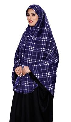 Justkartit Women Cotton Lycra Stitched Instant Chaderi Hijab Makhna