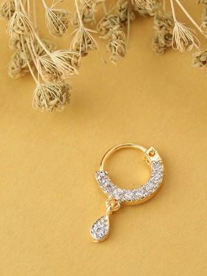 Gold nose-ring