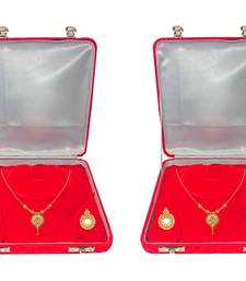 ATORAKUSHON Red Fabric and Plastic Unisex Jewellery Organizer for Necklac, Earrings Top - Pack of 2