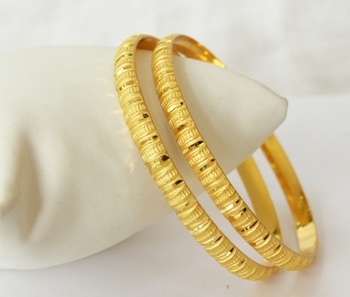 Set of Two Fine Bangles