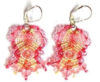 Crystal Lace Earrings