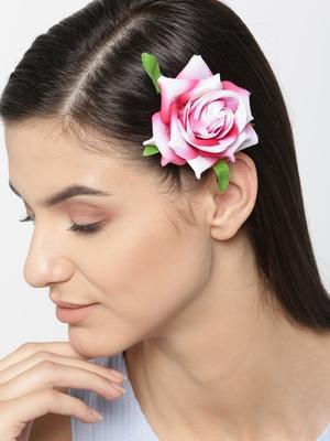 Pink hair-accessories