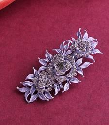 Purple hair-accessories