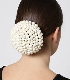 White hair-accessories