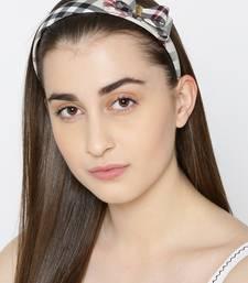 Beige hair-accessories