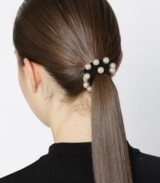 Black hair-accessories