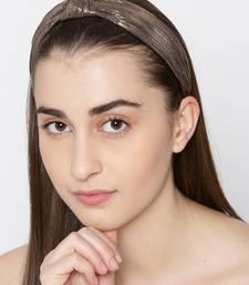 Brown hair-accessories