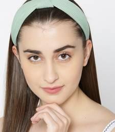 Green hair-accessories