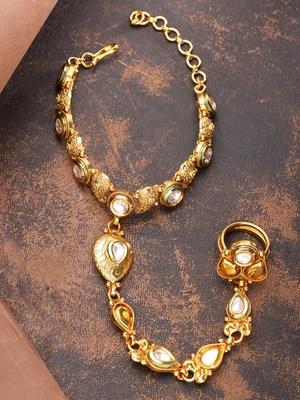 Gold haath-phool-hath-panja