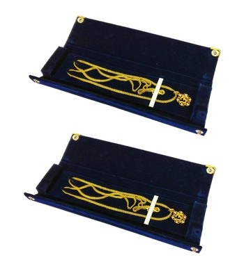 Blue jewellery-box