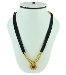 Buy Black Mani Thushi Mangalsutra mangalsutra online