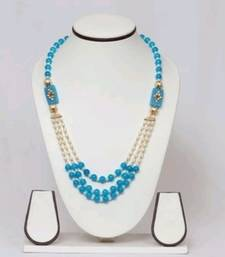 Bronze Pearl Necklace Sets
