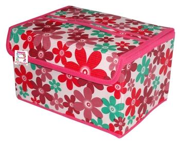 atorakushon pink Organiser Necklace Pouch Vanity Box Traveling Kit for Women